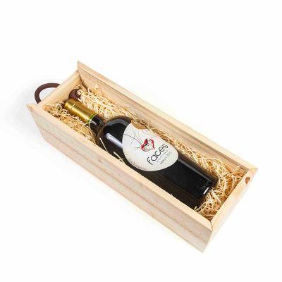amelio-gourmet - Kit Vinho na caixa de pinus