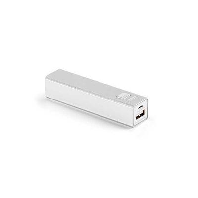 Gift Mais Promocional - Bateria portátil com cabo USB.