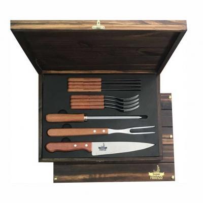 Royal Laser - Kit churrasco Tramontina 12 peças