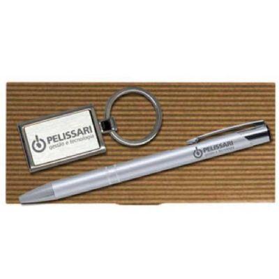 Royal Laser - Conjunto caneta e chaveiro