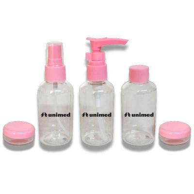 Royal Laser - Kit álcool gel 6 peças com necessaire
