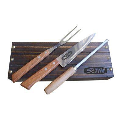 Royal Laser - Kit churrasco 03 peças em estojo
