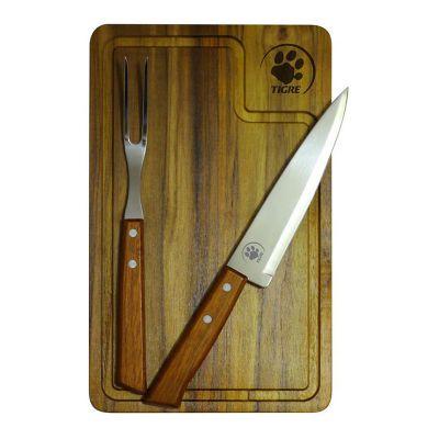 Royal Laser - Kit churrasco com peças personalizadas.