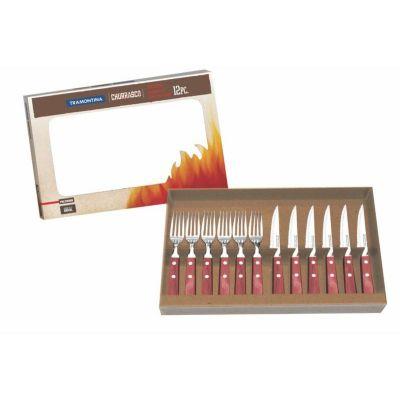Royal Laser - Kit tramontina 12 peças cabo de polywood.