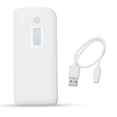 MSN Brindes - Powerbank Plástico com Lanterna