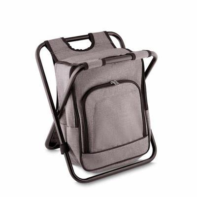 MSN Brindes - Bolsa térmica 25 litros com conversão em cadeira. Bolsa confeccionada em nylon, possui compartimento principal térmico e um bolso frontal. Armação de...