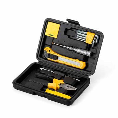MSN Brindes - Kit ferramenta 11 peças em estojo plástico. Maleta plástica com detalhe retangular no centro frontal e verso com o detalhe na lateral inferior, possui...