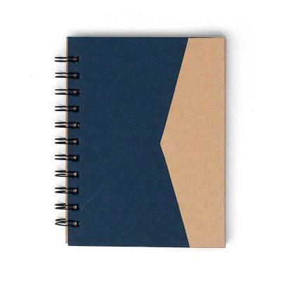 MSN Brindes - Bloco de anotações ecológico com sticky notes e suporte para caneta. Bloco de capa colorida com abertura lateral imantada, primeira folha com cinco bl...