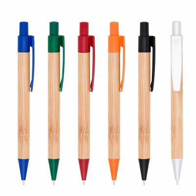 msn-brindes - Caneta Bambu color
