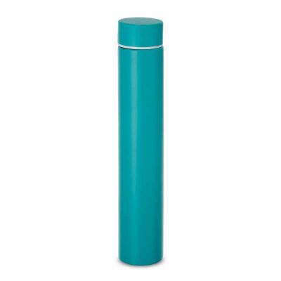 MSN Brindes - Garrafa térmica 275ml em inox com tampa rosqueável. Altura :  24 cm Largura :  4,5 cm Circunferência :  14,4 cm Medidas aproximadas para gravação (CxL...