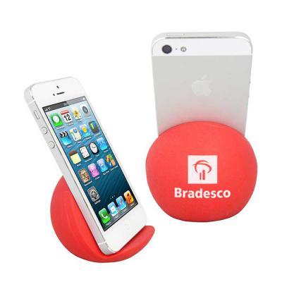 MSN Brindes - Apoio Para Smartphone Vinil Oca Personalizado Material: Vinil - Especificação: vinil (policloreto de vinil) Tipo de gravação: Tampografia (exceto p/ c...