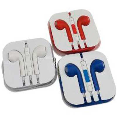 MSN Brindes - Fone de ouvido em caixinha acrílica, para Iphone, com controle de volume. Na MSN Brindes, você vai encontrar o brinde certo com preço justo para o seu...