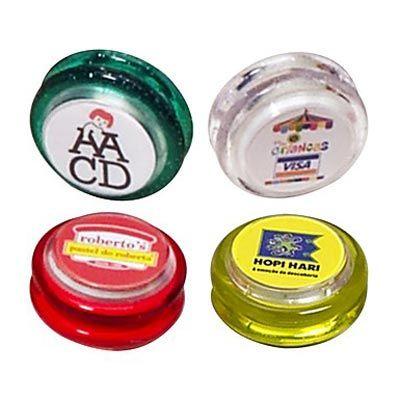 MSN Brindes - Ioiô personalizado. Embalagem: Saco plástico individual. Dimensão: 5,5 x 5,5 cm. Peso: 24 gramas. Na MSN Brindes, você vai encontrar o brinde certo co...