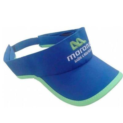 MSN Brindes - Viseira promocional produto confeccionado em microfibra e com regulador em velcro ou plástico. Perfeito para divulgar sua marca ou produto em eventos,...