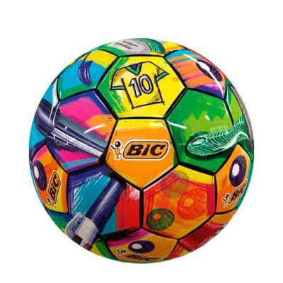 Cross Brindes - Bola de Futebol de Campo Oficial Personalizada. TAMANHO E PESO OFICIAL, costurada à mão, com 32 gomos, confeccionada em 100% PU (Poliuretano) , câmara...