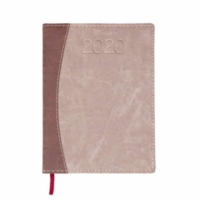 Cross Brindes - Agenda diária 2020 de couro sintético. Contém fita de cetim marca página, dados pessoais, calendário de 2019 à 2021, mapa do Brasil, mapa global, índi...