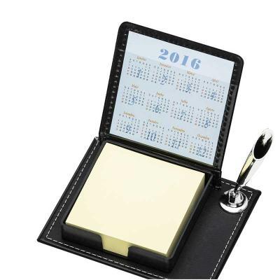 Cross Brindes - Bloco de anotações com calculadora e marcadores de capa