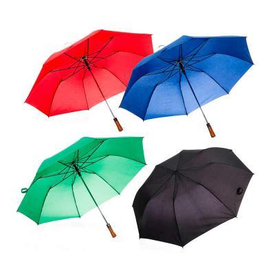 Cross Brindes - Guarda chuva de madeira