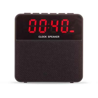 Cross Brindes - Caixa de Som Bluetooth com Relógio Digital