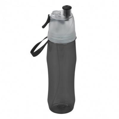 Cross Brindes - Squeeze de plástico personalizado 700ml brilhante com borrifador. Possui tampa plástica resistente(transparente), para uso basta levantar o bico e uti...