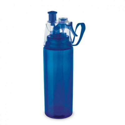 Cross Brindes - Squeeze com Borrifador de Água Personalizado. PS e ABS. Com borrifador de água. Capacidade até 600 ml. Food grade. Dimensão Produto: ø66 x 250 mm