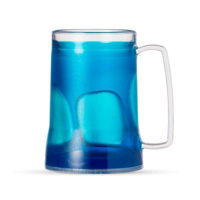 Cross Brindes - Caneca acrílica 400ml com gel térmico, Personalizada,  congelar apenas de boca para baixo no máximo 48hs a cada congelamento. Medidas aproximadas para...