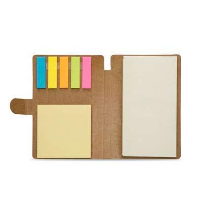 Cross Brindes - Bloco de anotações com sticky notes