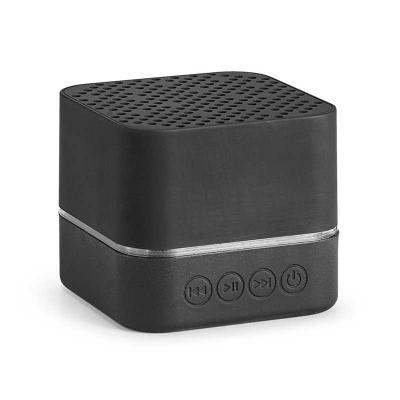 Cross Brindes - Caixa de som com bluetooth, Luz de LED com logo personalizado