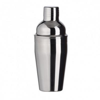 Cross Brindes - Coqueteleira de aço inox 550ml. Possui tampa de encaixe com peneira e tampa protetora para o bico. Altura :  21 cm Largura :  8,5 cm Circunferência :...