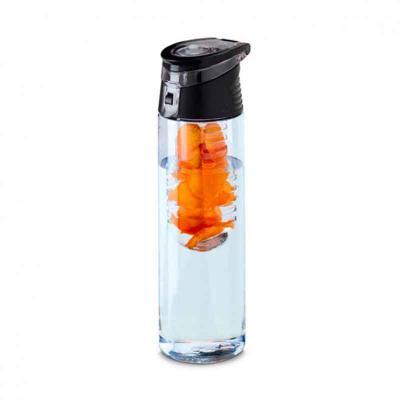 cross-brindes - Squeeze Plástico com Infusor Personalizado
