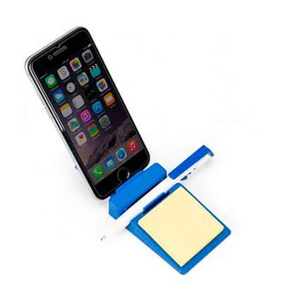 Cross Brindes - Suporte para celular com ventosas. Material plástico colorido com cabo metálico, possui cinco ventosas em cada extremidade. Altura :  7,3 cm Largura :...