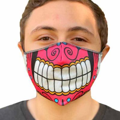 Marca e sua marca - Máscara de proteção personalizada