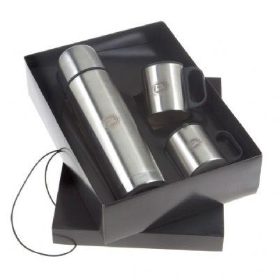 Design Promo - Kit com garrafa térmica e canecas