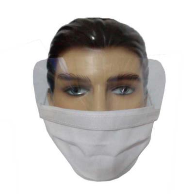 Brindes Drica - Máscara de proteção com visor ocular de acetato cristal