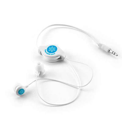 Ateliê Brindes - Fone de ouvido retrátil personalizado