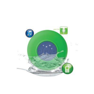 Ateliê Brindes - Caixa de som bluetooth resistente a água com 6 opções de cores.