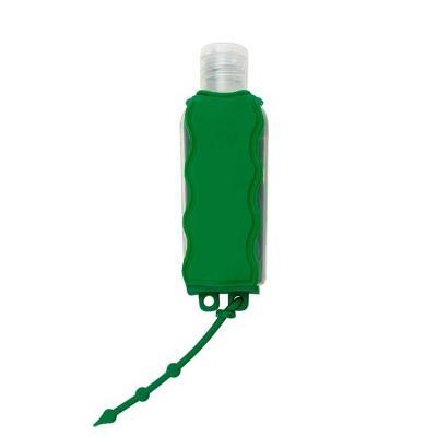 Ateliê Brindes - Chaveiro porta álcool gel, material emborrachado com capacidade para frasco de 60ml Altura :  9,7 cm , Largura :  3,6 cm, Medidas aproximadas para gra...