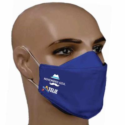 Ateliê Brindes - Máscara confeccionada em tecido 100% algodão  Tam P M G com elástico 4mm chato personalizada em silk.