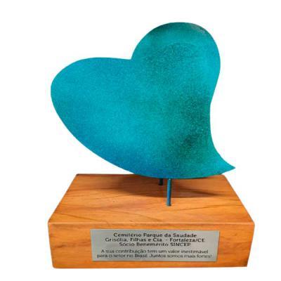 Paulo Segatto - Troféu Coração Azul - frontal