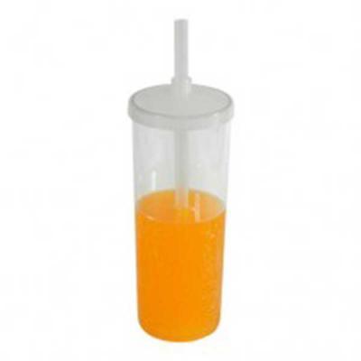 Splash7 Brindes - Copo com tampa e canudo personalizado