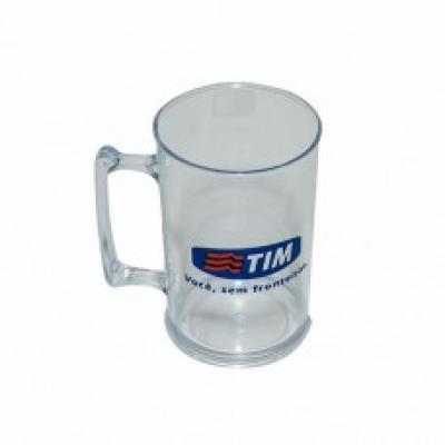 Splash7 Brindes - Canecas de chopp em PS cristal 300 ml