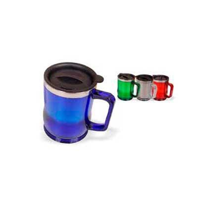 Splash7 Brindes - Caneca plástica 400 ml colorida