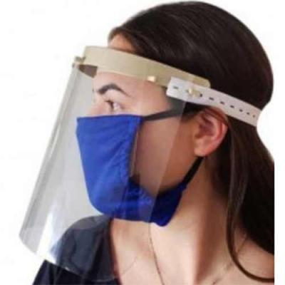 Splash7 Brindes - Escudo facial Protetor Largura da Peça  20 mm  Peso da peça  36 g   Super  leve material  (PP) Polipropileno