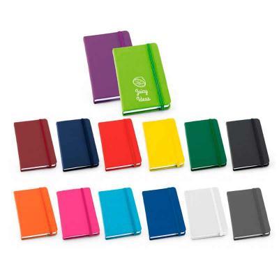 Galeria de Ideias - Bloco de anotações em sintético com capa dura.