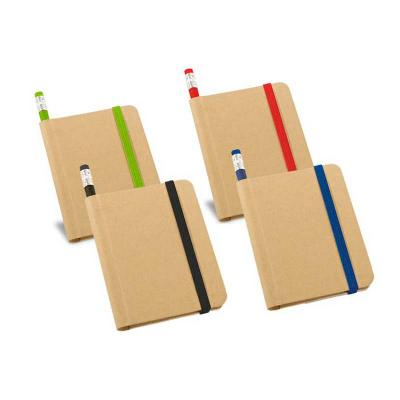 Galeria de Ideias - Bloco de anotações capa dura com 70 folhas não pautadas