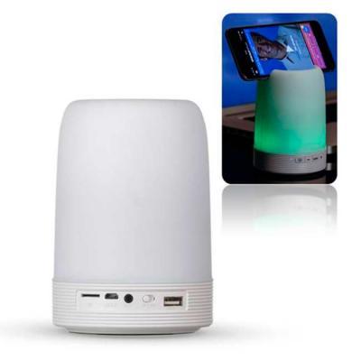 Galeria de Ideias - Caixa de som com porta caneta, suporte de celular e luminária