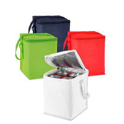 Galeria de Ideias - Bolsa térmica em poliéster para 4 latas