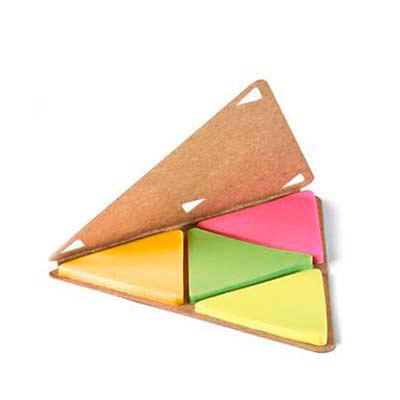 Galeria de Ideias - Sticky notes em papel cartão