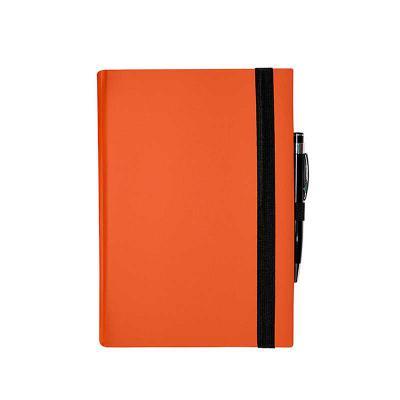 Redoma - Contém 192 páginas Disponível no tamanho 13,8x20cm  Impresso em cinza no papel marfim Fita marcadora dupla face Elástico para fechamento  Opções com p...