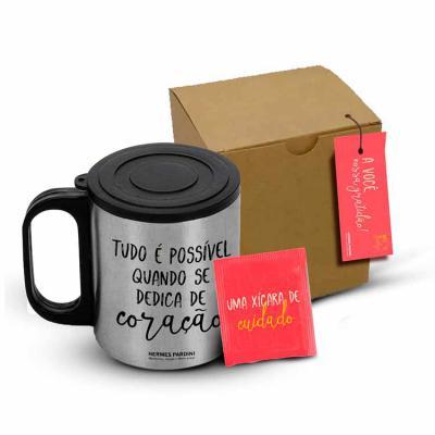 Brindes Agita & Anotz - Produtos Personalizados - kit chá